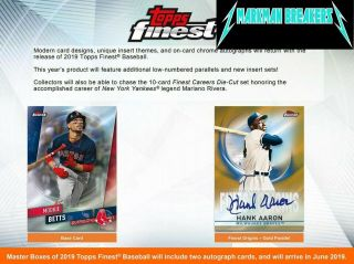 Chicago White Sox 2019 Topps Finest Baseball 8 - Box Case 4break 4 Markman