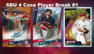 2019 Topps Finest 4 Case Player Break - Ken Griffey Jr