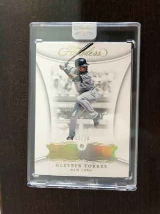 Gleyber Torres 2018 Panini Flawless Diamond 2/20 6 Rookie Yankees Rc