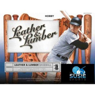 San Diego Padres 2019 Panini Leather And Lumber Baseball 1/2 Case 5x Break