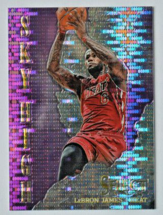 2013 - 14 Lebron James Panini Select Sky High