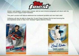 2019 Topps Finest Baseball 8 - Box Full Case Break Seattle Mariners 1