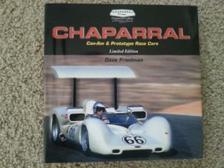 Chaparral Can - Am & Prototype Race Cars,  Limited Edition Signed By Jim Hall