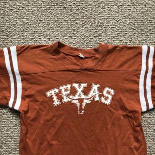 Rare Vintage 1976 University Of Texas Unisex Jersey Shirt Size M (fits Small)