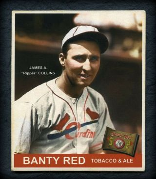 """Banty Red R319 """" 1934 """" Rip Collins,  St.  Louis Cardinals"""