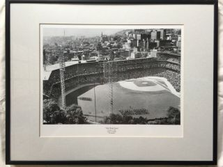 """""""1960 World Series"""" Pirates Vs Yankees Picture With Black Frame"""