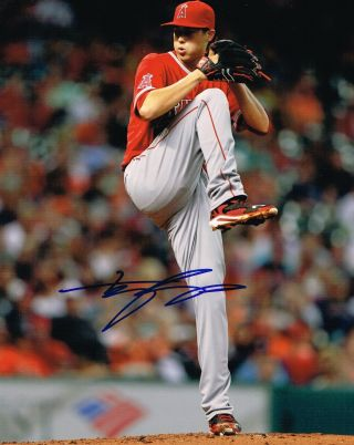 Tyler Skaggs Signed 8x10 Photo Los Angeles Angels