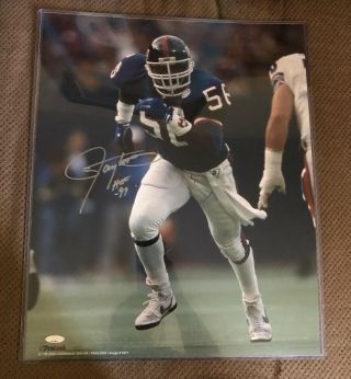 Lawrence Taylor Signed Autographed 16x20 Photo York Giants Tristar Auth