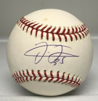 Frank Thomas Single Signed Baseball Autographed Auto Psa/dna White Sox Hof