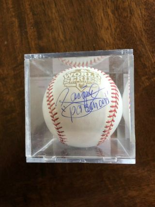 Manny Pacquiao Signed 2012 World Series Baseball Psa/dna Boxing Auto
