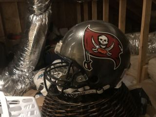 Tampa Bay Bucs Authentic Vsr4 Helmet