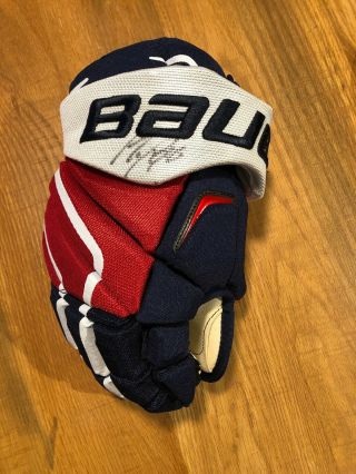 Nhl Washington Capitals Autographed Glove Marcus Johansson