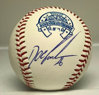 Dwight Doc Gooden Signed 1986 All Star Game Baseball Jsa Witnessed Mets