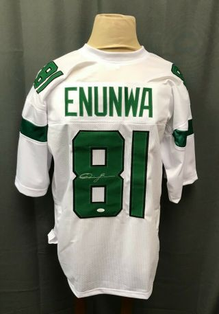 Quincy Enunwa 81 Signed York Jets Jersey Auto Sz Xl Jsa Witnessed