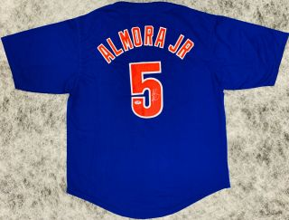 Chicago Albert Almora Jr.  Signed Jersey Auto - Psa Dna