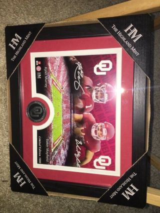 Signed Baker Mayfield & Kyler Murray Oklahoma Sooners 9''x11'' Photo