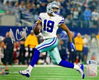 Dallas Cowboys Amari Cooper Signed 8 X 10 Photo Auto - Bas Beckett