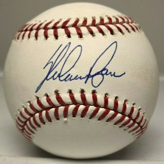 Nolan Ryan Single Signed Baseball Auto Autograph Nolan Ryan Hologram Mets