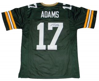Davante Adams Signed Autographed Green Bay Packers 17 Jersey Jsa