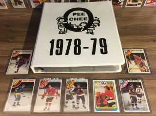1978 79 Opc O - Pee - Chee Complete Set 396/396 Bossy Federko Taylor Rc