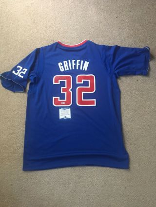 Blake Griffin Signed Autographed Auto Los Angeles Clipper Jersey Bas Authentic