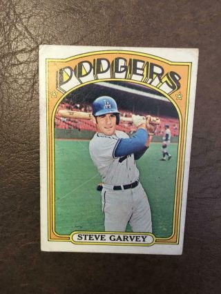 1972 Topps Steve Garvey Baseball Card Dodgers 686