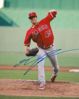 Tyler Skaggs Signed 8x10 Photo Los Angeles Angels B