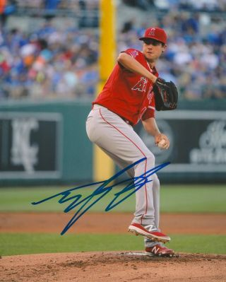 Tyler Skaggs Signed 8x10 Photo Los Angeles Angels A