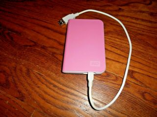 Western Digital Passport Hd 250 Gb Pink Wd2500mepn–00 - Rare ] Fast Ship
