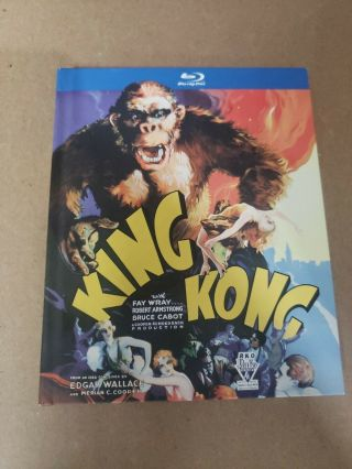 King Kong 1933 Digibook Oop Rare B&w (blu - Ray Disc,  2010) Like