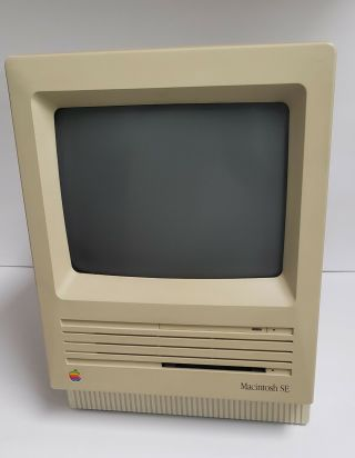 Rare Apple Macintosh Se 1986 M5011 20sc Hardrive Vintage Fully Functional