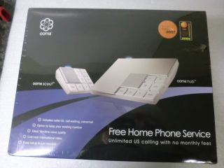 Rare - Ooma Core - Hub/scout - In Retail Box.  Homephone Service