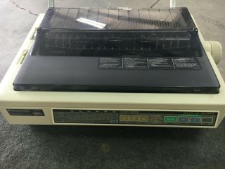 Becoming Rare,  Panasonic Kx - P3123 Color 24 - Pin Quiet Printing Dot Matrix Printer