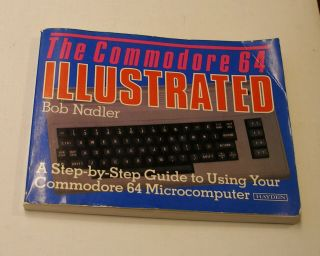 Rare Illustrated Guide To The Commodore 64 By Hayden