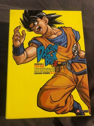 Dragonball Z: Dragon Box,  Vol.  1 (dvd,  2009,  6 - Disc Set) Box Set Htf Rare Oop