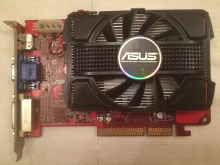 Asus Hd4650 Agp 1gb Rare Videocard With Hdmi Port