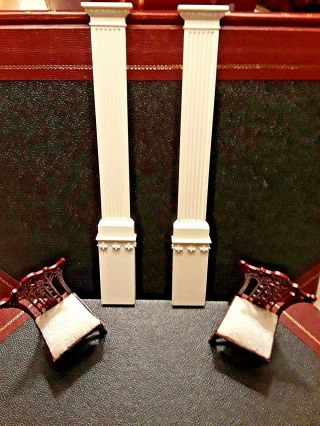 A Georgian Pilaster Columns And Bases,  By Artist Jim Coates 1:12 Scale
