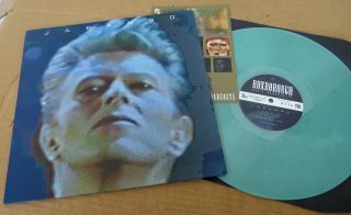David Bowie Japan 90 Lp Rare Limited Edition Green Vinyl Numbered No: 228