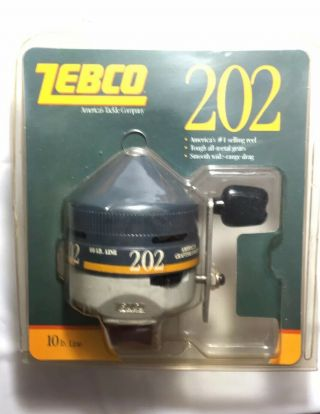 Zebco 202 Fishing Reel In Package From 1988