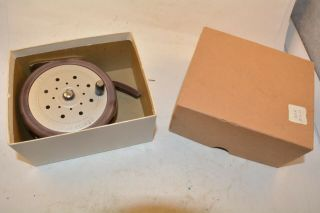 Old Early P&k Fly Reel In The Box Very Cool Design Lure Rod Z
