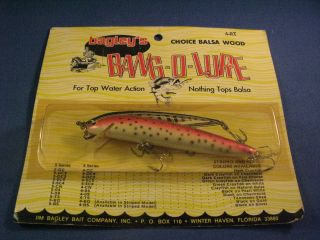 Bagley 4 Inch Bang - O - Lure Fishing Lure Rt (1)