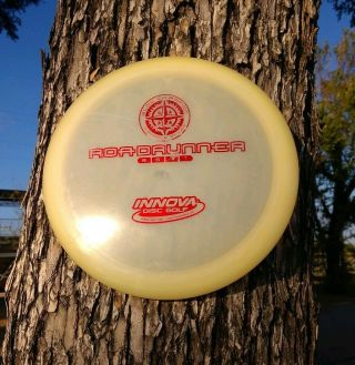 Innova - Rare 2016 Great Cond Penned Pre Emboss Glow Champion Roadrunner - 174g