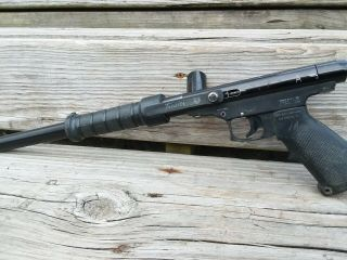 Pmi Traccer Vintage Pump Paintball Marker.  Stock Class Rare Co2.  Shoots And Work