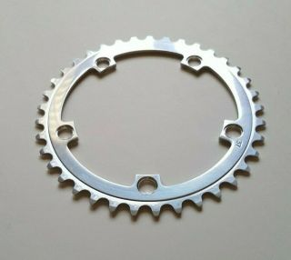 Gipiemme Road Racing Double Triple 37t 116bcd Chainring - Rare