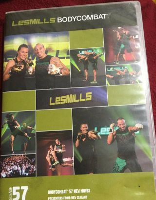 Les Mills Bodycombat 57 Dvd & Cd (rare) Fitness,  Workout