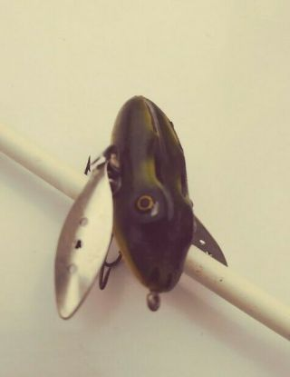Vintage Ultra Rare Fishing Lure Leboeuf Creeper Frog