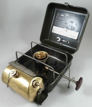 Kerosene Stove Optimus No.  111 From Swedish Army - Very Rare