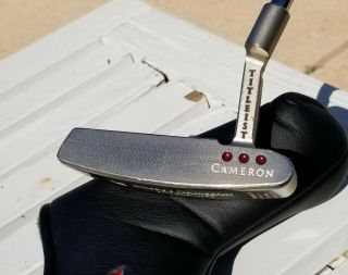 """Scotty Cameron Mil Spec 340g 34 """" Titlest Putter Collectible Rare"""