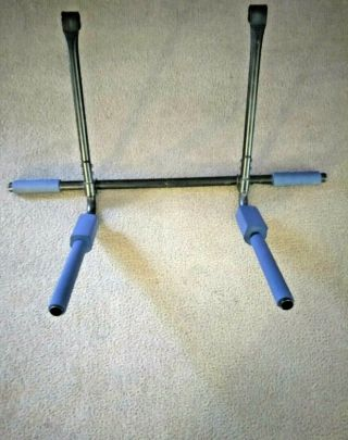 Universal Dip Station Extension For Pull Up Bar (up To 250lbs) Rare Hard To Find