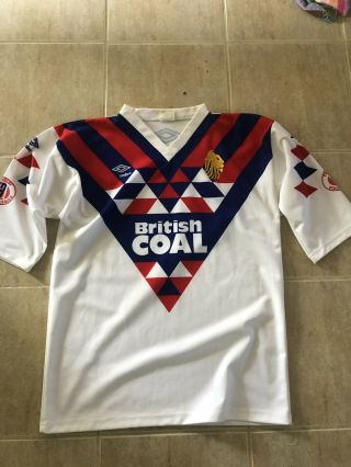 Vintage Great Britain Lions Rugby League Jersey Size Large Umbro Rare